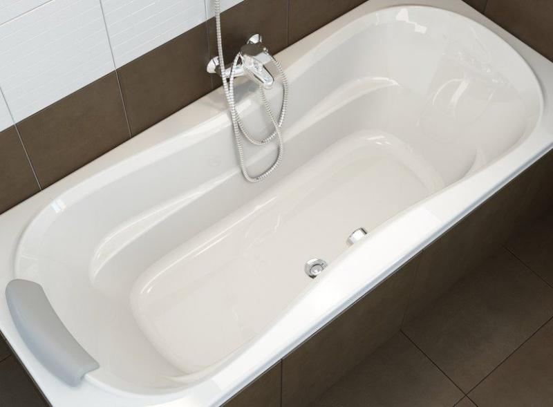 Легкие акриловые ванны